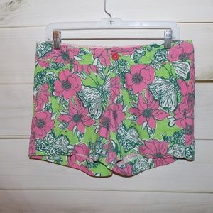 Lilly Pulitzer Butterfly Floral Shorts